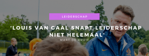 Dag van het Commissariaat Mart de Kruif Louis van Gaal
